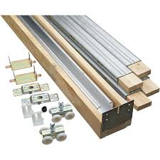 barn door track furniture pocket door hardware kit barn door track system
