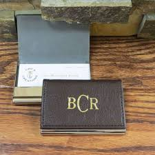 Leather Personalized Business Card Holder The 25 Best Leather Business Card Holder Ideas On Pinterest
