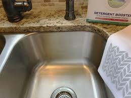 Kitchen Sink Odor Removal by Kitchen Sink Refresh U0026 Diy Stenciled Towels Elle Olive U0026 Co
