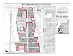 Park West Floor Plan by West End U2013 Collegiate Historic District Extension West End