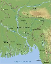 India Physical Map by Maps Of Bangladesh Bizbilla Com