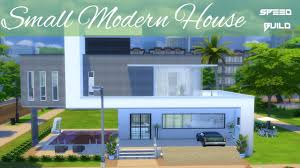 sims 4 house building small modern house youtube sims 4 house building small modern house