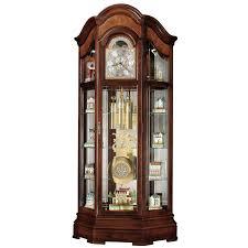 Howard Miller Grandfather Clock Value Howard Miller Richardson I Grandfather Curio Clock Hayneedle
