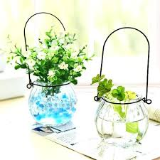 glass plant containers glass plant pots singapore 5 1 2 footed