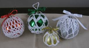 ornament covers crochet