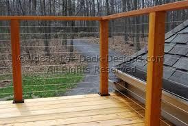 Decking Handrail Ideas Dining Room Elegant Best 20 Wire Deck Railing Ideas On Pinterest