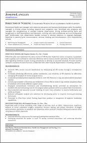 Director Of Development Resume Sample Director Of Nursing Resume Sample Nursing Resumes