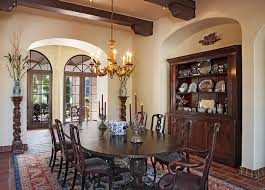 Spanish Colonial Dining Chairs Spanish Style Dining Room Houzz