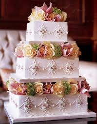 imaginative wedding cake ideas for summer wedding party with