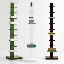 Simple Wood Bookshelf Designs by Furniture Green Ivory And Brown Creative Bookshelf Featuring