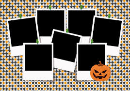 adobe photoshop halloween background templates halloween photo collage template 10338 dryicons