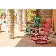 White Rocking Chair Outdoor by Polywood Jefferson Woven Outdoor Rocker Free Shipping Today For