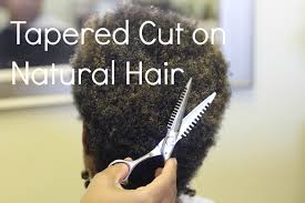tapered cut on natural hair u0027in the salon u0027 series youtube
