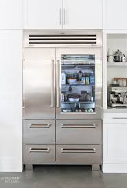 Glass Door Home Refrigerator by Sub Zero Refrigerator With Glass Door Home Design
