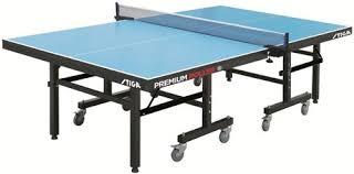 stiga deluxe table tennis table cover premium roller stiga north america