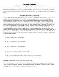 chemistry periodic table worksheet answer key organization of the periodic table worksheet answers hobieanthony