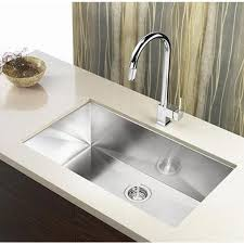 Undermount Kitchen Sink Stainless Steel 32 Inch Zero Radius Stainless Steel Undermount Single Bowl Kitchen