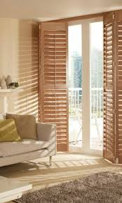 Bypass Shutters For Patio Doors Wood Shutter Patios Cozy And Wood Shutters