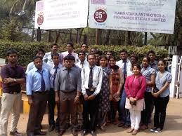 industrial visit to karnataka antibiotics pharmaceutical limited