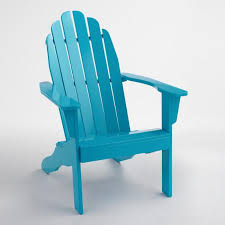 Extra Large Adirondack Chairs Surf Blue Adirondack Chair World Market