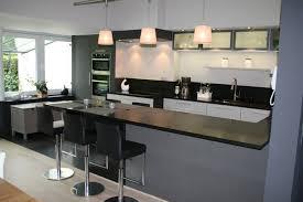 cuisine avec bar am駻icain modele cuisine ouverte avec enchanteur photos de cuisine americaine