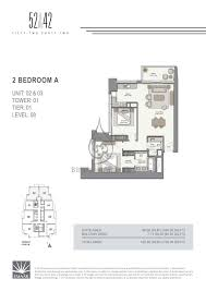 52 42 1 bedroom apartment floor plan 1