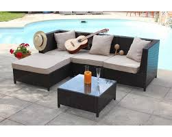 canape de jardin en resine tressee pas cher table basse salon de jardin pas cher le bois chez vous avec salon