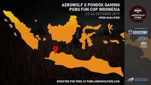 pubg qualifiers aerowolf x pondok gaming pubg fun cup open qualifier day 2 youtube