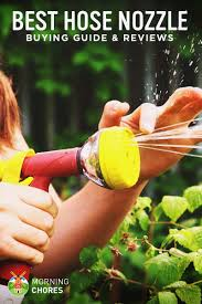 5 best hose nozzles and sprayers for your garden plants and cars