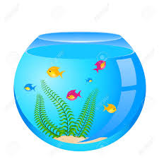 fish bowl with fish clipart clipartxtras