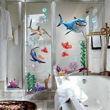 Mickey Bathroom Accessories by Finding Nemo Wall Stickers Colourful Fish Sea Bathroom Decor