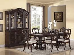 Dining Room Sets Bench Cheap Dining Table Sets Buffet With Wine Rack Round Dining Table