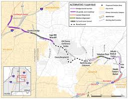 Valley Metro Light Rail Map by Marta