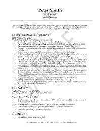 Sales Agent Resume Sample by Real Estate Resume Sample Free Resumes Tips