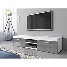 small white tv cabinet modern white high gloss tv table 2 drawers glass shelf fancy long tv