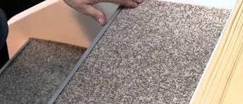 treppe belegen treppenrenovierung treppensanierung selber machen mit teppich