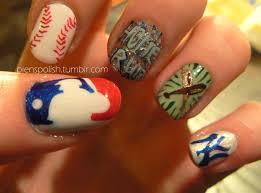 28 outstanding baseball nail art u2013 slybury com
