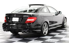 used amg mercedes 2014 used mercedes certified c63 amg coupe distronic