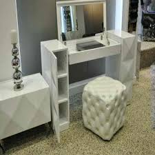 glass top vanity table glass top makeup vanity highly modern white makeup vanity table with