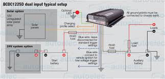 redarc bcdc1225d dual battery isolator system dc to dc mppt solar