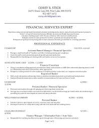 Banking Resume Template Sample Personal Banker Resume Mortgage Banker Resume Example