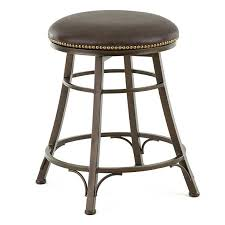 steve silver bali backless swivel counter stool with nailhead trim