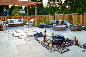 big family cozy backyard landscaping products supplier techo bloc