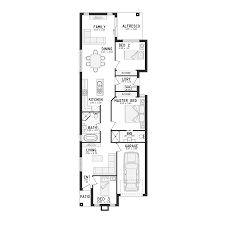 single story farmhouse floor plans 9 single story house plans for narrow blocks storey stylist design