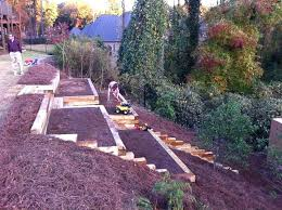 Backyard Slope Landscaping Ideas Backyard Hillside Landscaping Ideas Sloped Landscape Design Ideas