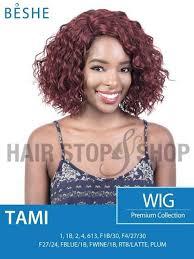 beshe 1b wine beshe premium synthetic tami wig