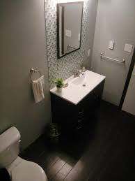 bathroom remodel on a budget ideas rectangular white wooden vanity