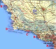 Santa Barbara Map Boat Trip Stage 1
