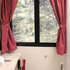 ideal small bathroom window curtains inspiration home designs