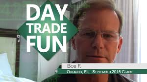 Bob F by Day Trade Testimonial Bob F
